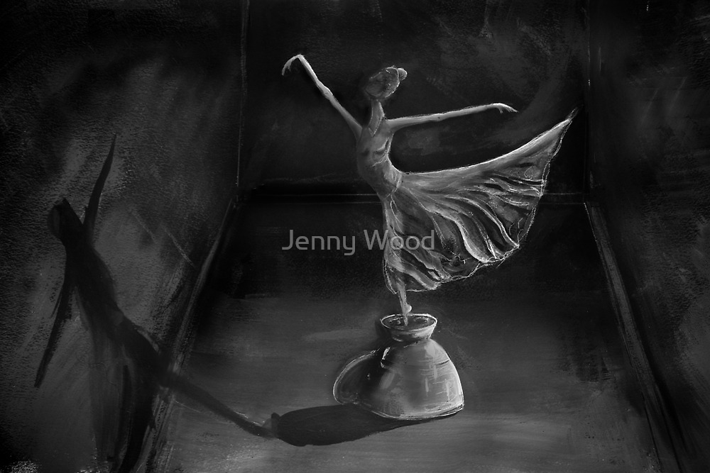 Peace on a teacup by Jenny Wood