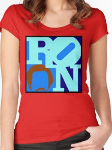 Ron Love Women's Fitted Scoop T-Shirt