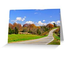 Highway Trails Greeting Card