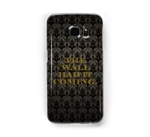 The Wall Had it Coming Samsung Galaxy Case/Skin