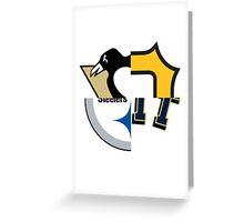 Pittsburgh Team Quarters Greeting Card