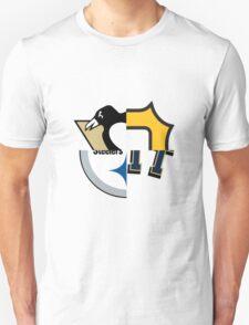Pittsburgh Team Quarters Unisex T-Shirt