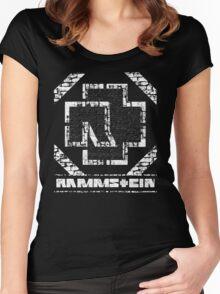 Rammstein - Steinmauer Women's Fitted Scoop T-Shirt
