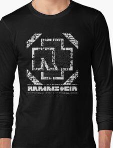 Rammstein - Steinmauer Long Sleeve T-Shirt