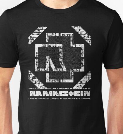 Rammstein - Steinmauer Unisex T-Shirt
