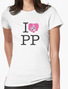 I <3 Pinkie Pie Womens Fitted T-Shirt