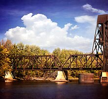 Railroad Bridge by KBritt