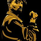 Tupac Poster by mattlock