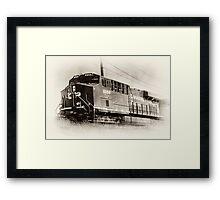 Engine 8956 Framed Print