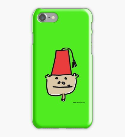 monkey fez i phone case iPhone Case/Skin