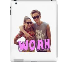 Zoe and Joe Sugg iPad Case/Skin