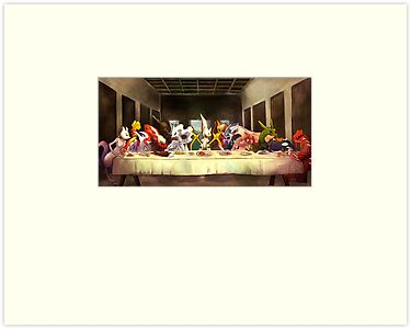 Pokemon Last Supper by Fabian Leija
