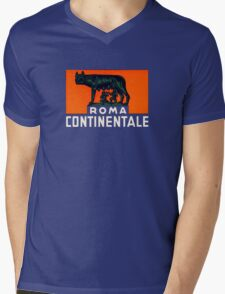 Roma Continentale Mens V-Neck T-Shirt