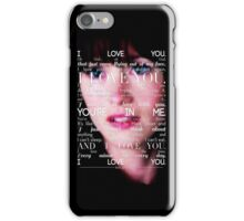 Lexie Grey - I Love You iPhone Case/Skin