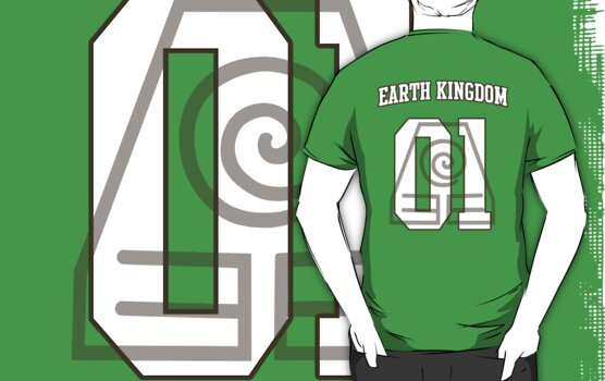 Earth Kingdom Jersey #01 by iamthevale