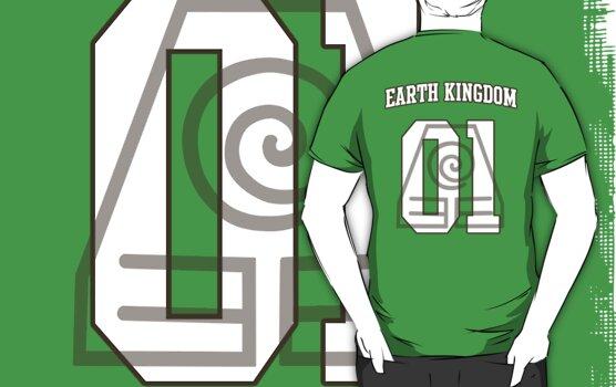 Earth Kingdom Jersey #01 by iamthevale