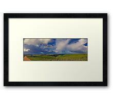 """""""Tempests Through The Valley"""" Framed Print"""