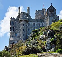 Rock Solid ~ St Michael's Mount by Susie Peek