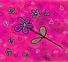 FLOWER FUN 9 by GUADALUPE  DIVINA
