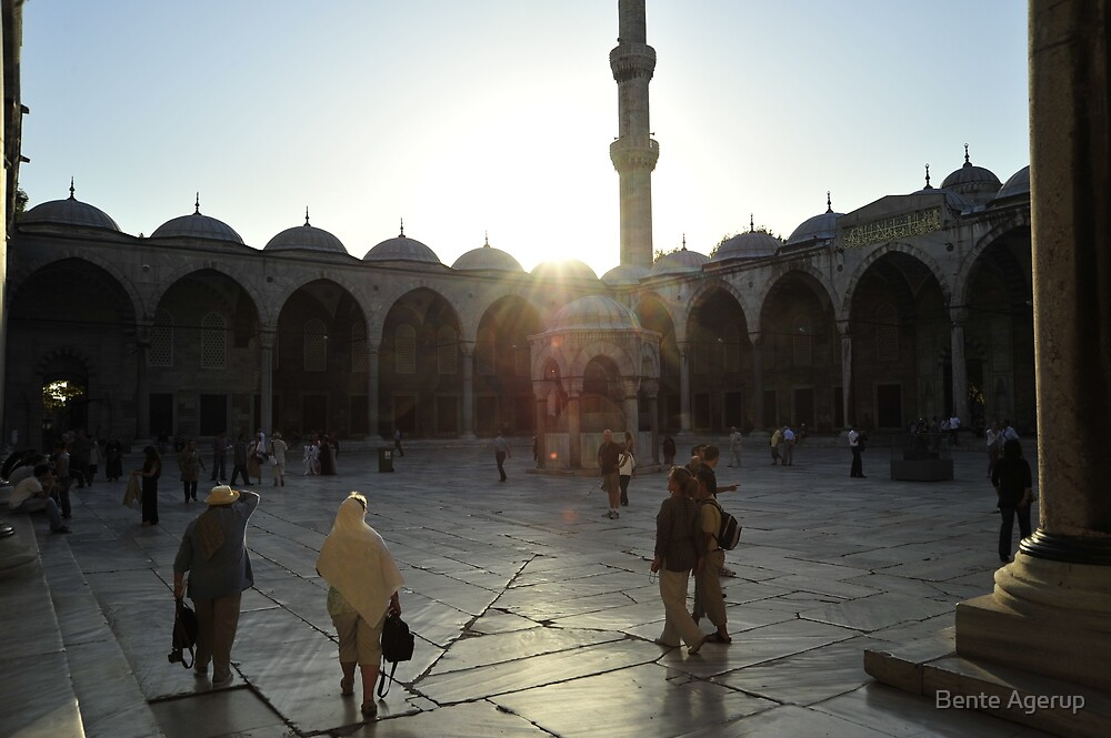 The Blue Mosque by julie08