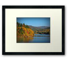 Polish Golden Autumn Framed Print