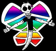 Rainbow Butterfly by George Clarke