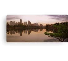 Londrina Sunset Canvas Print