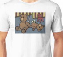 Teddy Bear And Bunny - Who Me? Unisex T-Shirt
