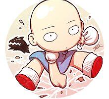 Saitama - One Punch Man by Lombard