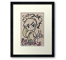 Link, Waker of Winds Framed Print