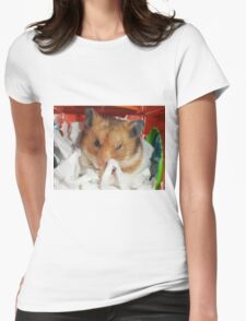 Wink Wink ;-)! Womens Fitted T-Shirt