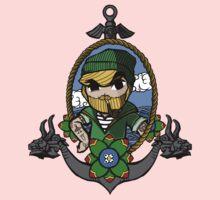 Legend Of Zelda - Sailor Link Baby Tee