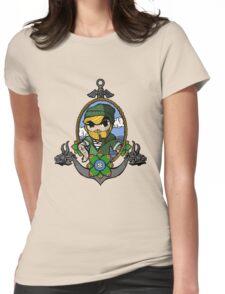 Legend Of Zelda - Sailor Link Womens Fitted T-Shirt