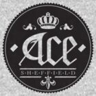 Ace, Sheffield Tee - The Small Dark Emblem by Shane Rounce