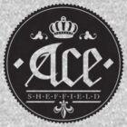 Ace, Sheffield Tee - The Small Dark Emblem by Shane Rounce