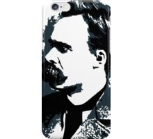 Friedrich Nietzsche portrait vector drawing  iPhone Case/Skin