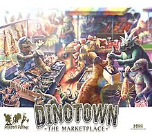 Dinosaur Marketplace by MudgeStudios