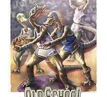 Dinosaur Hoops by MudgeStudios