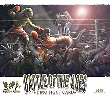 Dino Battle of the Ages by MudgeStudios