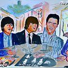 rock Meeting Beatles & Elvis by LIVING