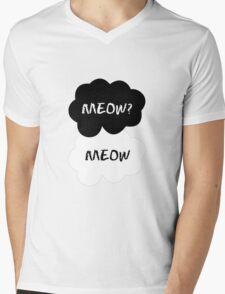 MARKIPLIER - MEOW Mens V-Neck T-Shirt