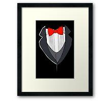 Grey Tuxedo Framed Print