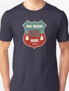 Vintage New Orleans Blues  T-Shirt