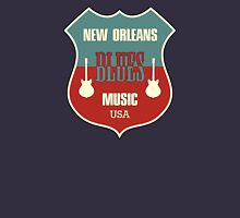 Vintage New Orleans Blues  Unisex T-Shirt