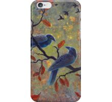 Autumn Ravens iPhone Case/Skin