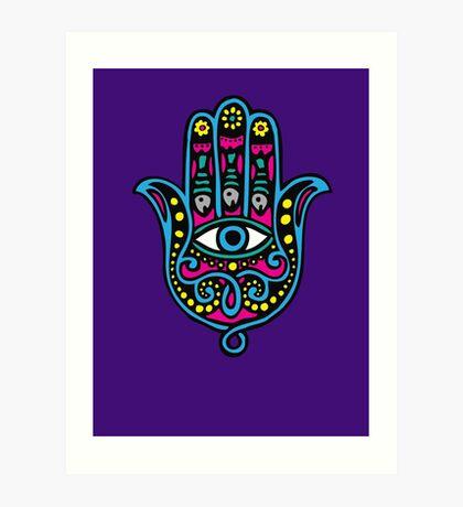 Hand of Fatima Art Print