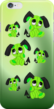 Devil Puppies .. iphone case by LoneAngel