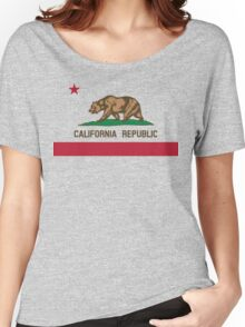 California Flag Women's Relaxed Fit T-Shirt