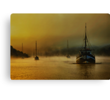 Carina In The Mist Canvas Print