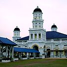 Mosque at Johor Bahru, Malaysia by Ron Dewi